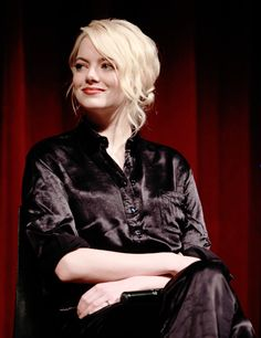 Emma Stone during The Academy of Motion Picture Arts & Sciences Hosts an Official Academy Screening of THE BATTLE OF THE SEXES at MOMA on September 19, 2017 in New York City.