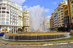 Plaza del Ayuntamiento. Valencia