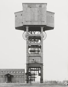 Bernd & Hilla Becher Germany Mine Head, Siege De Folschwiller 1987 Black and White photograph 1/5 60 x 50 cm Spruth Magers Berlin London