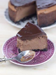 Este es, probablemente, el mejor cheesecake que he comido en mi vida. Bueno, junto con el que hice de Baileys. Pero es que es ...
