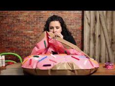 Easy Kid's Doughnut Costume - HGTV - Weekday Crafternoon
