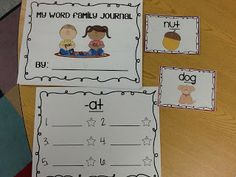 All About Word Families with a Freebie!