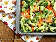 Yum!  Rustic Roasted Vegetables