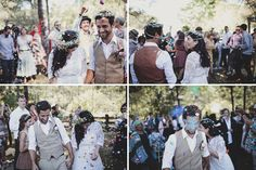 A Wedding Festival in the Woods: Laura + Alex