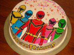 power rangers birthday cakes - Google Search