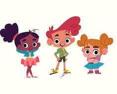 WEBSTA @ gabby.zermeno - Los pequeños ✨✨#characterdesign #kids #personalproject