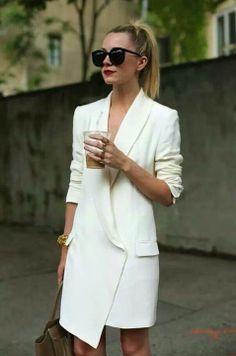 Marynarka co jest sukienką :)Jacket that looks like a dress :)