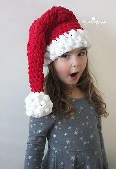 Crochet Christmas Hats Santa S Helper Free Crochet Elf Hat Pattern with Ears Santa Claus Hat Crochet Christmas Hat Crochet Baby Hat Crochet Christmas Hats . Crochet Santa Hat, Crochet Christmas Hats, Crochet Hat For Women, Christmas Crochet Patterns, Holiday Crochet, Crochet For Kids, Christmas Afghan, Christmas Beanie, Quick Crochet
