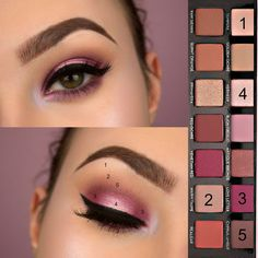 Modern Renaissance Palette Makeup Look Tutorial