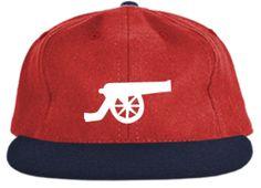 389e4cc4f3e Talisman   Co. X Ebbets Field Flannels Arsenal Gunners Soccer Cap 6 Panel  Cap