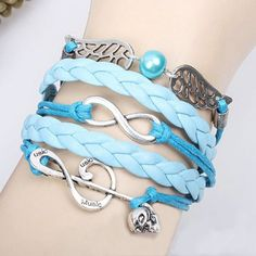 Cool! Sweet Music Note Angel Wing Infinity Bracelet just $10.9 from ByGoods.com! I can't wait to get it!