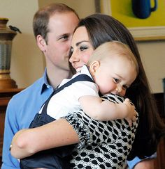 Aw! Kate Middleton Reveals Her Favorite Prince George Royal Tour Photo Kate Middleton, Prince William and Prince George on April 9, 2014