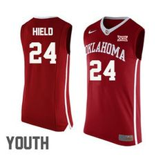 Buddy Hield Oklahoma Sooners  24 Basketball Nike Jersey - Red - Youth Oklahoma  Sooners Basketball 178b36de8