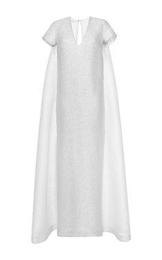 Milly Sparkle Long Dress by Emilia Wickstead at Moda Operandi