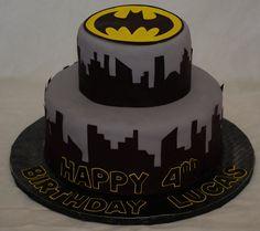 Grooms cake- Batman Cake