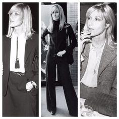 anjelica huston | ShopJami. Anjelica Huston, Style Icons, Yves Saint Laurent, Chic, Parisians, Photography, Jackets, Inspiration, Ysl