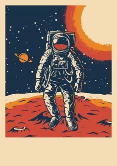 Cartel vintage de investigación espacial | Premium Vector #Freepik #vector #logo #patron #cartel #vintage Vintage Graphic Design, Graphic Design Posters, Graphic Wall, Photographie Indie, Kunst Poster, Vintage Space, Cute Poster, Posca, Festival Posters