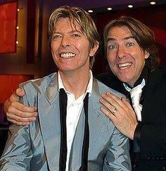 David Bowie and Jonathan Ross... Wossy  was  a great interviewer for DB