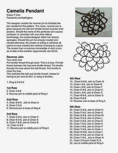 Tzunami Art: Lo schema della Camelia di Elain rivisitato....