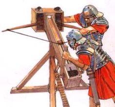Latin word of the day: ballista, -ae f. Imperial Legion, Imperial Army, Roman Technology, Roman Armor, Pax Romana, Greek Pantheon, Roman Artifacts, Roman Warriors, Roman Legion