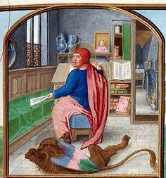 Définition et description de l'enluminure médiévale.