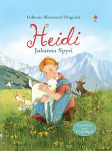 his special edition of Johanna Spyri's timeless classic is beautifully illustrated by Elena Selivanova. Orphan Heidi is sent to live with her gruff Grandfather high in the Swiss Alps. Follow her adventures with her friend Peter among the goats and birds, from playing in the summer meadows to sleigh rides in the winter snow.