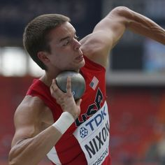 MOSCOW (AP) — Gunnar Nixon, a American competing in his first major event, seized a big lead after four events of the decathlon at the world championships on Saturday.The world junior champion went Decathlon, 20 Years Old, World Championship, Moscow, Events, Running, Inspired, American, Big