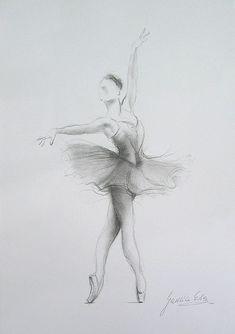 ballet drawings in pencil | Pencil Drawings