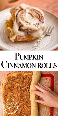 Pumpkin Recipes, Fall Recipes, Holiday Recipes, Fall Dessert Recipes, Fall Desserts, Fall Breakfast, Breakfast Recipes, Sweet Breakfast, Breakfast Pastries
