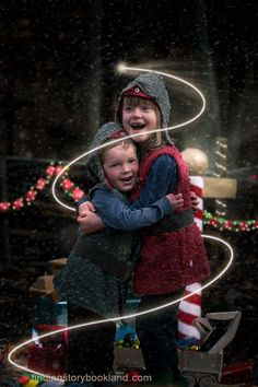 Christmas Elves Children's photo shoot tutorial from findingstorybookland.com
