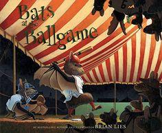 Bats at the Ballgame (A Bat Book) by Brian Lies https://www.amazon.com/dp/0547249705/ref=cm_sw_r_pi_dp_x_Ofb.xb9KH2QMB
