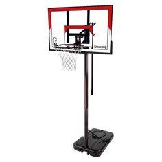 "Spalding NBA 44"" Polycarbonate Portable Basketball Hoop : Target"
