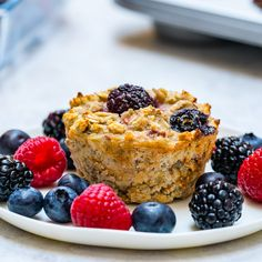 Triple Berry Oatmeal Muffins for Clean Eating Breakfast! - Clean Food Crush Triple Berry Oatmeal Muffins for Clean Eating Breakfast! Berry Muffins, Oatmeal Muffins, Breakfast Muffins, Breakfast Recipes, Brunch Recipes, Breakfast Club, Brunch Ideas, Muffin Recipes, Breakfast Ideas