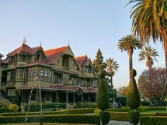 I visited the Winchester Mansion several years ago while in California.  Truly the most unique house I have ever been in.  It is said to be haunted which I do not doubt!.  It has breathtaking, however, with its Tiffany glass windows, doorways and and stairs to nowhere...  Look it up.  Very interesting!