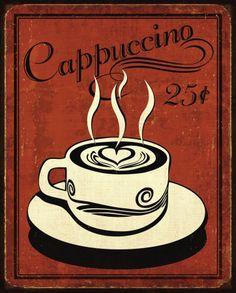 cappuccino retrô