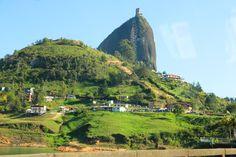 The beautiful Guatapé rock known as el Peñol de Guatapé