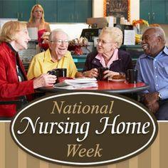 national nursing home week appreciation and ideas activity