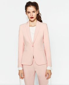 BLAZER DOBLE CREPE-WEAR TO WORK-MUJER | ZARA Estados Unidos
