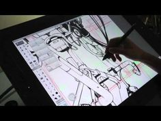 This time-lapse video goes through concept work developed on SketchBook Pro for iPad, then finished on the desktop version. Digital Painting Tutorials, Digital Art Tutorial, Art Tutorials, Sketchbook Pro, Bike Craft, Sketches Tutorial, Coloring Tutorial, Ipad Art, Cool Sketches