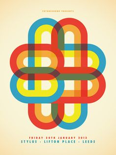 M83 poster by Dan Stiles