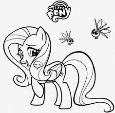 my little pony fluttershy coloring pages projects to try