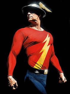 The Golden Age Flash. My fave DC comic character.