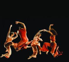 George Mason University students performing David Parson's  Swing Shift  (by Alexis Glenn)