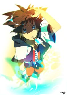 23 | Sora Kingdom Hearts by moxie2D on DeviantArt