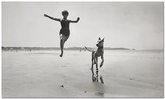 Jaques Henri Lartigue-1926 Pet/owner relationship. Movement- the way people travel through public places.