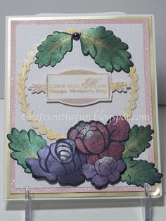 PAPERTREY INK MOTHER'S DAY CARD WITH PEARL EX AND PERFECT PEARLS | Crafts on the Run