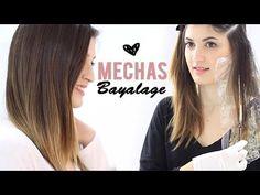 Mechas de moda balayage | balayage hair - YouTube