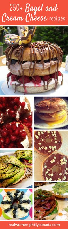 Bagel and Cream cheese recipes from Real Women of Philadelphia #share #create #contest