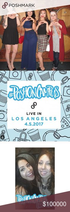 POSH ON CAMPUS 💕 LA April 2017 #poshoncampus was designed for rock star stylist who love to POSH! On Friday April 5 we had our first meet & greet in LA, at Madera Kitchen in Hollywood! It was awesome to get to meet & chat with other Poshers. There are was appetizers, a photo booth, and a raffle! One lucky winner won $100 to shop on Posh! We even had our own Posh on Campus Snapchat filter! The night was a success and something I was really happy to be a part of! Other