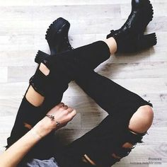 Fashionable Lace-Up and Black Design Women's Short Boots